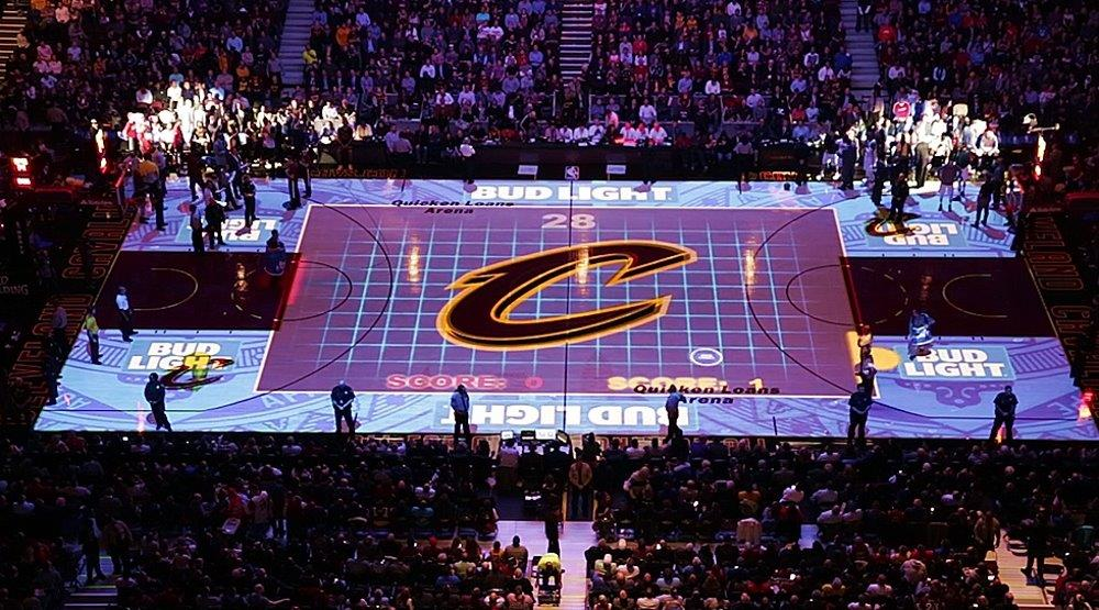 Cleveland Cavaliers projection show