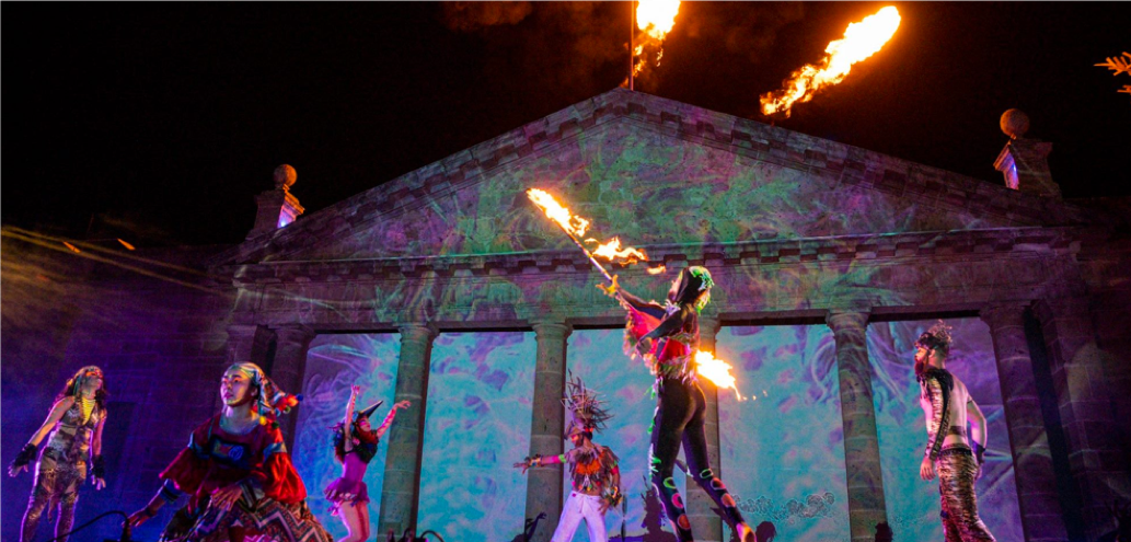 Guadalajara festival of light GDLUZ 2019