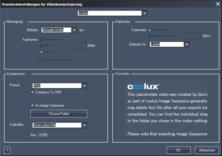 Pandoras Box > Content > Encoding > Quicktime Converter