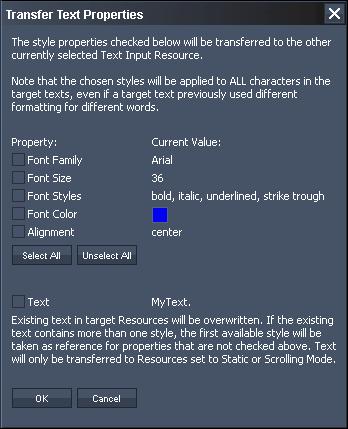 Pandoras Box > User Interface - Master > Tabs Overview > Text Input